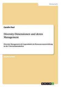 Diversity-Dimensionen Und Deren Management