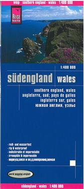 Reise Know-How Landkarte Südengland, Wales 1 : 400.000