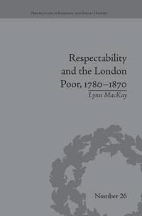 Respectability and the London Poor 1780-1870