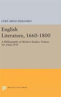 English Literature 1660-1800