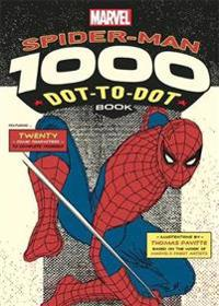 Marvels spider-man 1000 dot-to-dot book - twenty comic characters to comple