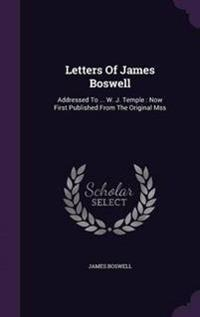 Letters of James Boswell