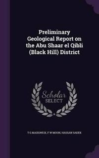 Preliminary Geological Report on the Abu Shaar El Qibli (Black Hill) District