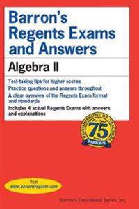Barron's Regents Exams and Answers: Algebra II