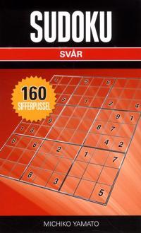 Sudoku Svår Svart