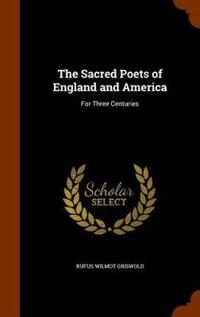 The Sacred Poets of England and America