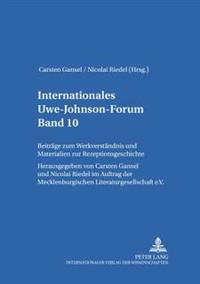 Internationales Uwe-Johnson-Forum- Band 10 (2006)