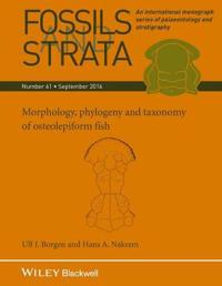 Morphology, Phylogeny and Taxonomy of Osteolepiform Fish