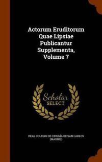 Actorum Eruditorum Quae Lipsiae Publicantur Supplementa, Volume 7