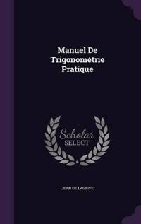 Manuel de Trigonometrie Pratique