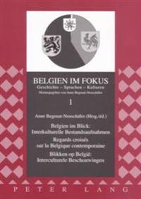 Belgien Im Blick: Interkulturelle Bestandsaufnahmen - Regards Croises Sur La Belgique Contemporaine- Blikken Op Belgie Interculturele Beschouwingen