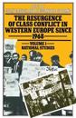 The Resurgence of Class Conflict in Western Europe Since 1968