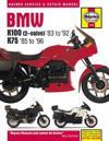 Haynes BMW K100 (2-Valve) '83 to '92 K75 '85 to '96 Service and Repair Manual