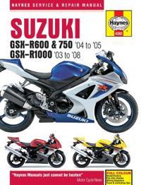 Suzuki Gsx-r600, 750 & 1000, '03-'06 Haynes Repair Manual