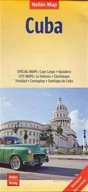 Nelles Map Landkarte Cuba/Kuba 1 : 775 000