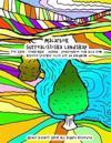Målarbok Surrealistiska Landskap För Barn, Tonåringar, Vuxna, Pensionärer Och Alla SOM Arbetet Besöker Eller Bor På Vårdhem