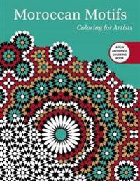 Moroccan Motifs Adult Coloring Book
