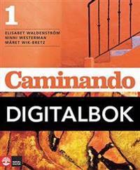 Caminando 1 Lärobok Digital, tredje upplagan