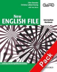 New English File: Intermediate: Workbook with MultiROM Pack