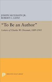 """To Be an Author"""