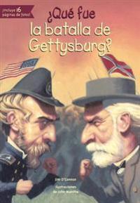 Que Fue La Batalla de Gettysburg?