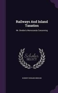 Railways and Inland Taxation