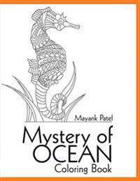 Mystery of Ocean: Coloring Book