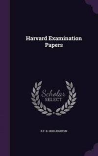 Harvard Examination Papers