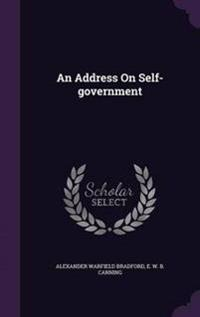An Address on Self-Government