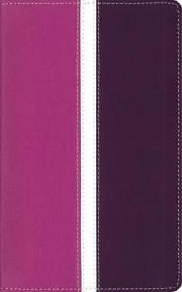 Amplified, Holy Bible, Imitation Leather, Pink/Purple, Indexed: Captures the Full Meaning Behind the Original Greek and Hebrew