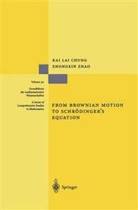 From Brownian Motion to Schroedinger's Equation