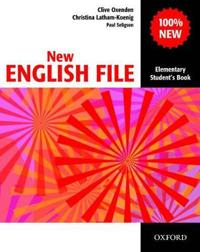 New english file: elementary: students book - six-level general english cou
