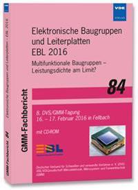 Elektronische Baugruppen und Leiterplatten - EBL 2016