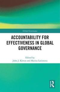 Accountability for Effectiveness in Global Governance