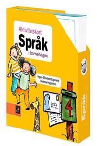 Aktivitetskort. Språk i barnehagen. 50 aktivitetskort i kassett - Inger Elisabeth Eigeland, Helena Hagström | Ridgeroadrun.org