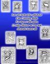 Lær Det Hebraiske Alfabetet Fun Coloring Book for Barn I Alle Aldre 22 Sider Skriver UT I En BOK Abstrakt Kunst Stil