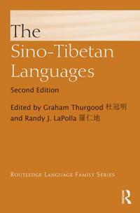 The Sino-Tibetan Languages