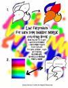 Laer Fargenavn for Barn SOM Snakker Norsk Coloring Book Bruk Tallene Til a Laere Laereren Bestemmer + Morsomme Figurer Flere Ovelser for Barn, Voksne,