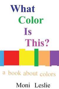 What Color Is This?: A Book about Colors