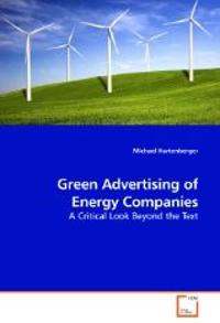 Green Advertising of Energy Companies