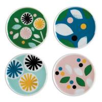 Lorena Siminovich Porcelain Coaster Set