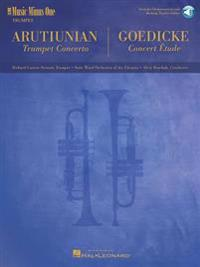 Arutiunian - Trumpet Concerto and Goedicke - Concert Etude: Music Minus One Trumpet [With CD (Audio)]
