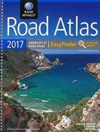 2017 Road Atlas Midsize Easy Finder - Spiral: DRAM