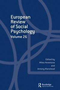 European Review of Social Psychology: Volume 26