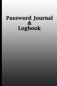 Password Journal: Old School, Internet Address & Password Logbook,6 X 9, 105 Pages for Keeping Favorite Website Addresses, Usernames and