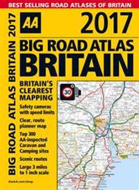 AA 2017 Big Road Atlas Britain