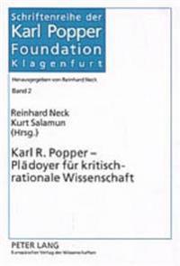 Karl R. Popper - Plaedoyer Fuer Kritisch-Rationale Wissenschaft