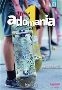 Adomania 1. Kursbuch + DVD-ROM (mit Lösungsheft)
