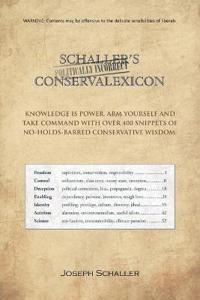 Schaller's Politically Incorrect Conservalexicon