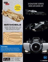 Incredibuilds: Batmobile Signature Series Book and Model Set